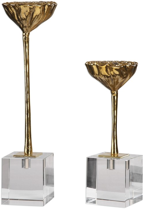 Uttermost Accessories American Lotus Pod (Set of 2)
