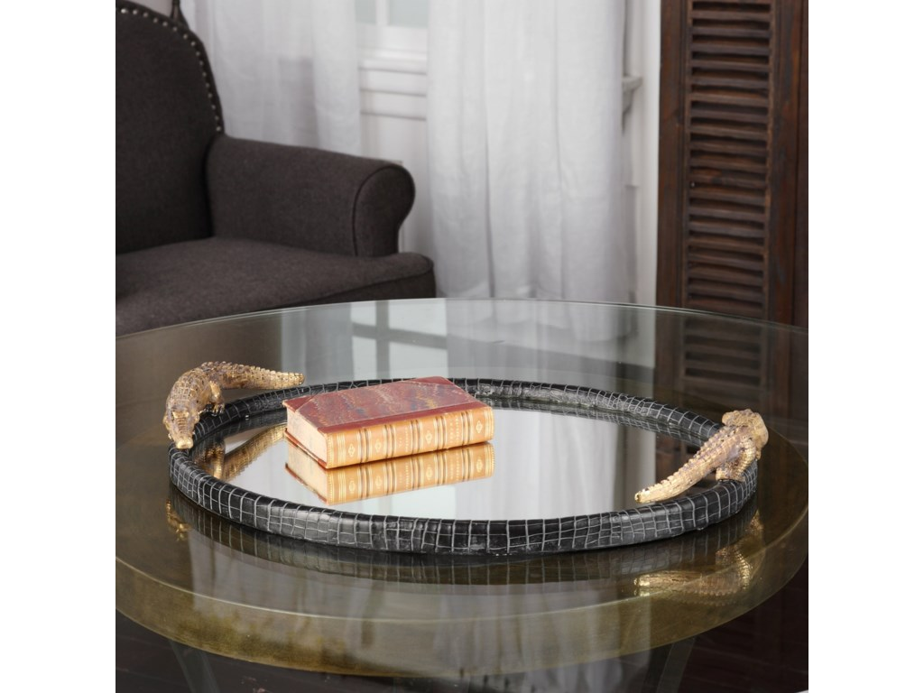 Uttermost AccessoriesAlligator Tray