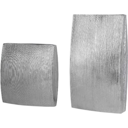 Darla Aluminum Vases (Set of 2)