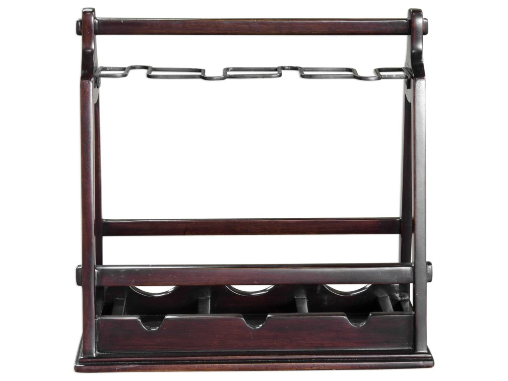Uttermost AccessoriesOssana Mahogany Wine Holder