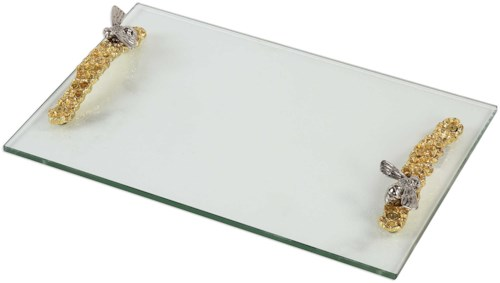 Uttermost Accessories Hive Glass Tray