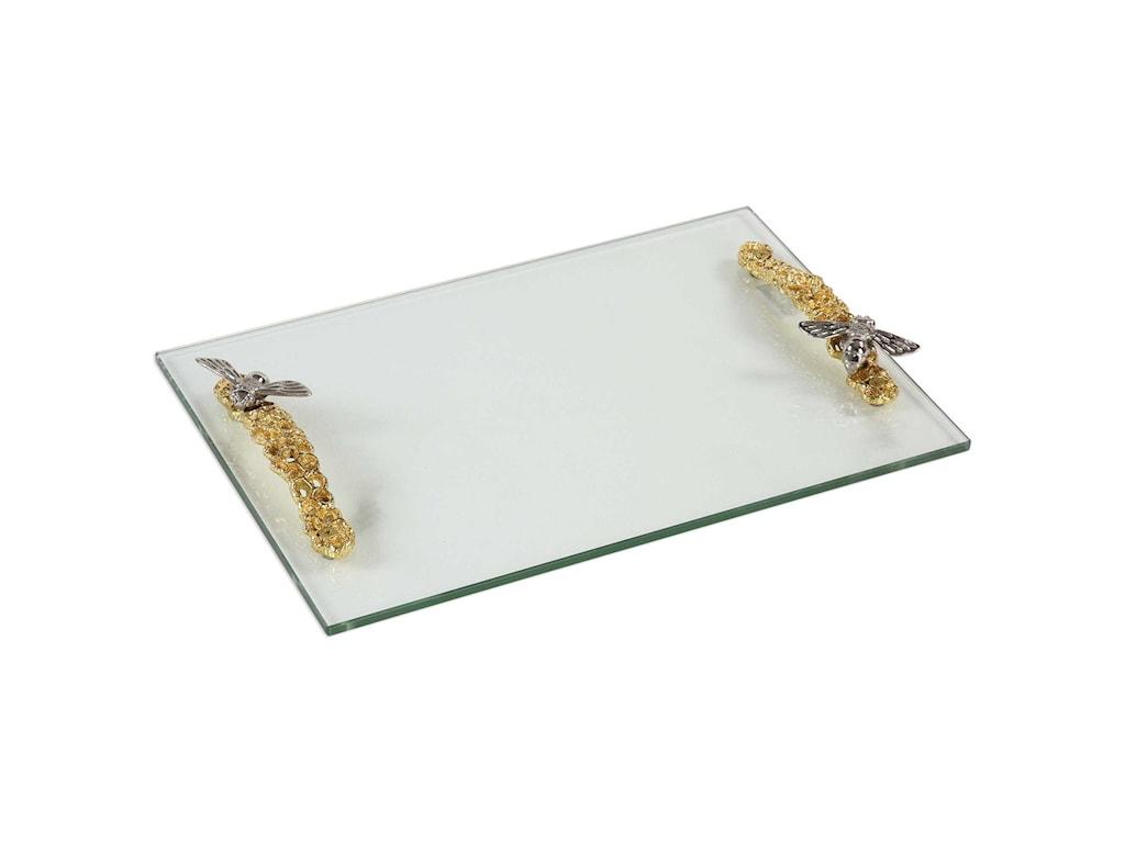 Uttermost AccessoriesHive Glass Tray