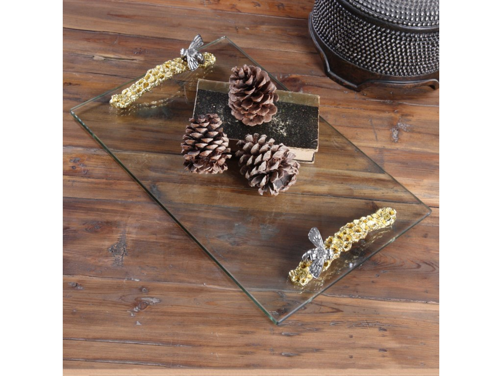 Uttermost AccessoriesHive Glass Tray