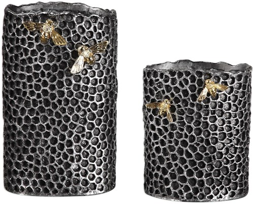 Uttermost Accessories Hive Vases (Set of 2)