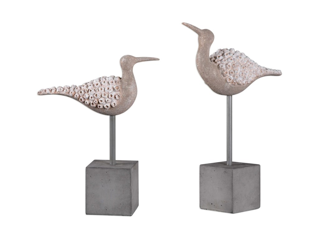 Uttermost AccessoriesShore Birds Sculpture (Set of 2)