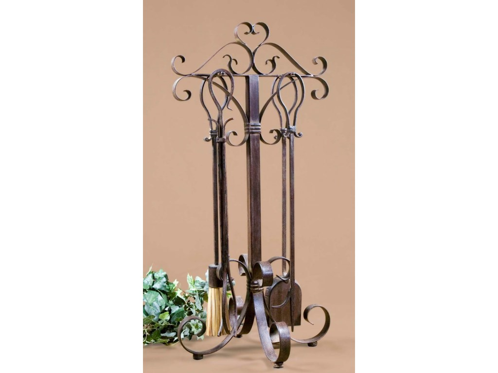 Uttermost AccessoriesDaymeion Fireplace Tools Set of 5
