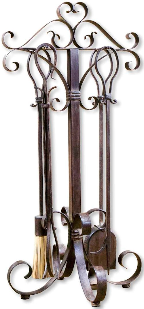 Uttermost Accessories Daymeion Fireplace Tools Set of 5