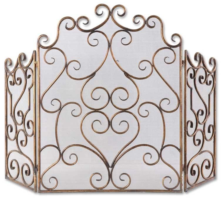 Uttermost AccessoriesKora Metal Fireplace Screen