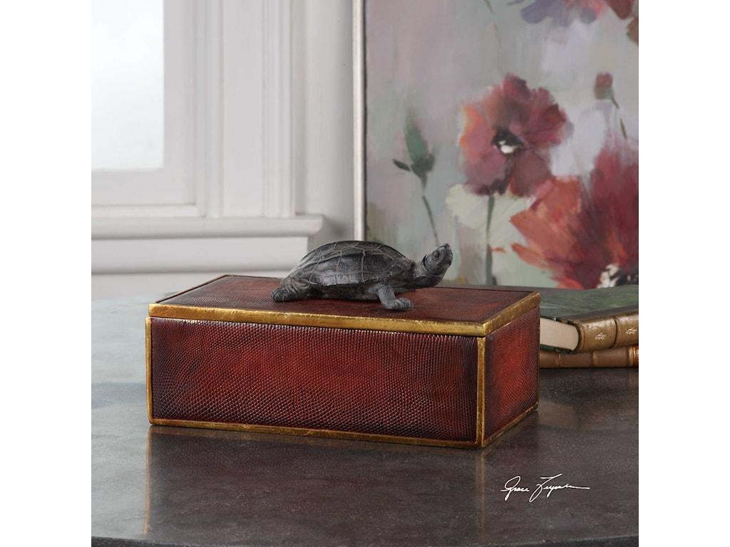 Uttermost AccessoriesNeagan Chestnut Brown Box