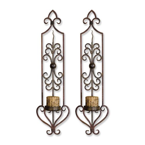 Uttermost Accessories Privas Wall Sconces Set of 2