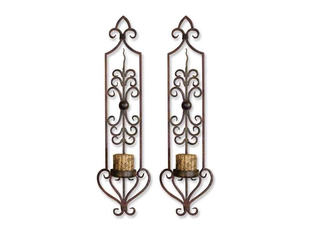 Uttermost AccessoriesPrivas Wall Sconces Set of 2