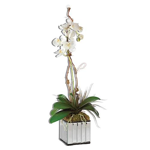 Uttermost Accessories White Kaleama Orchids
