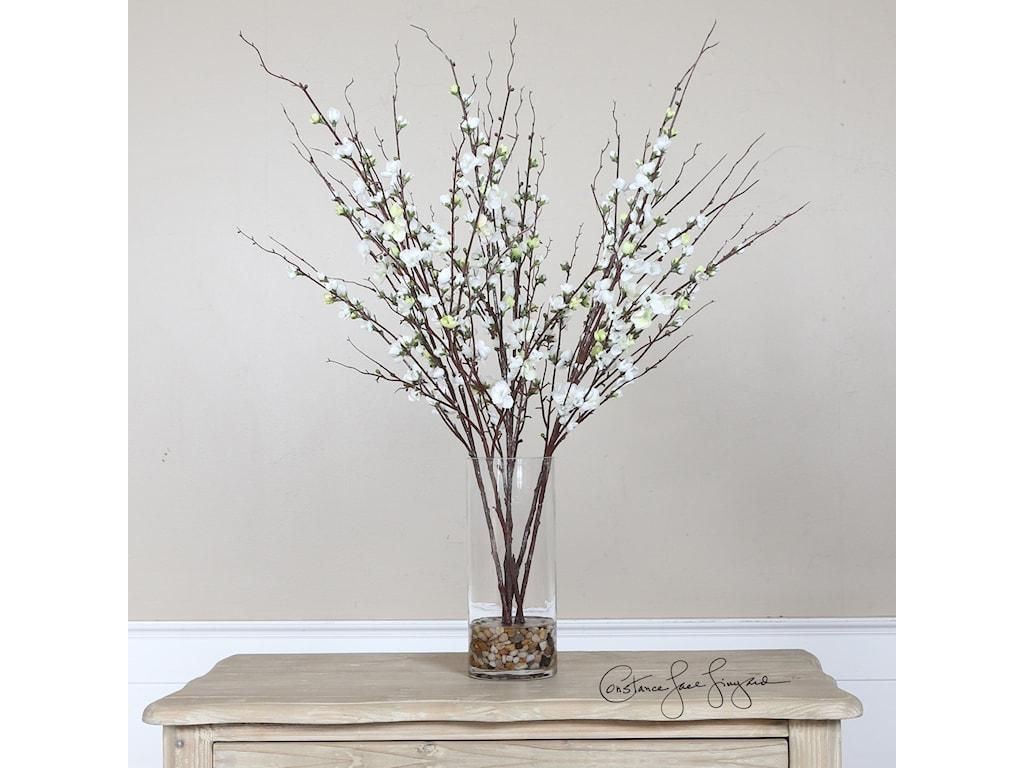 Uttermost AccessoriesQuince Blossoms Silk Centerpiece