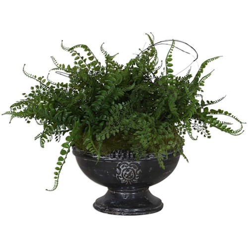 Uttermost Accessories Amberly Fern Centerpiece