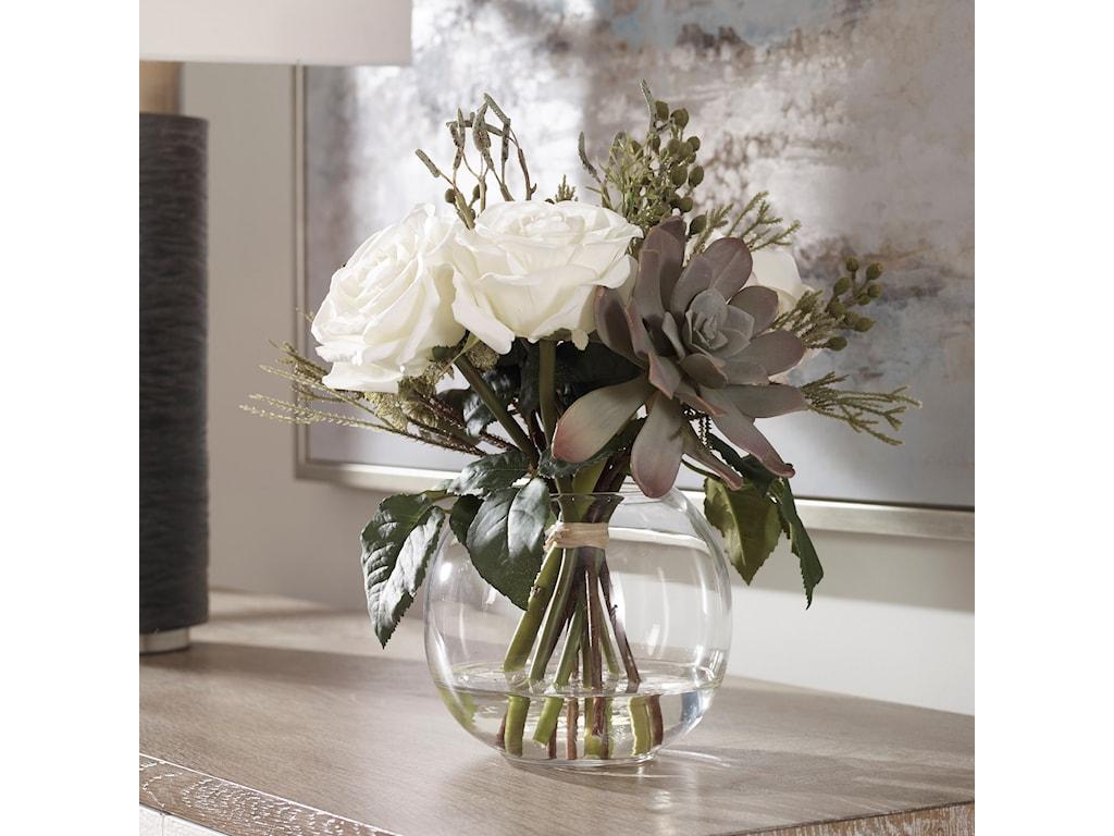 Uttermost AccessoriesBelmonte Floral Bouquet & Vase