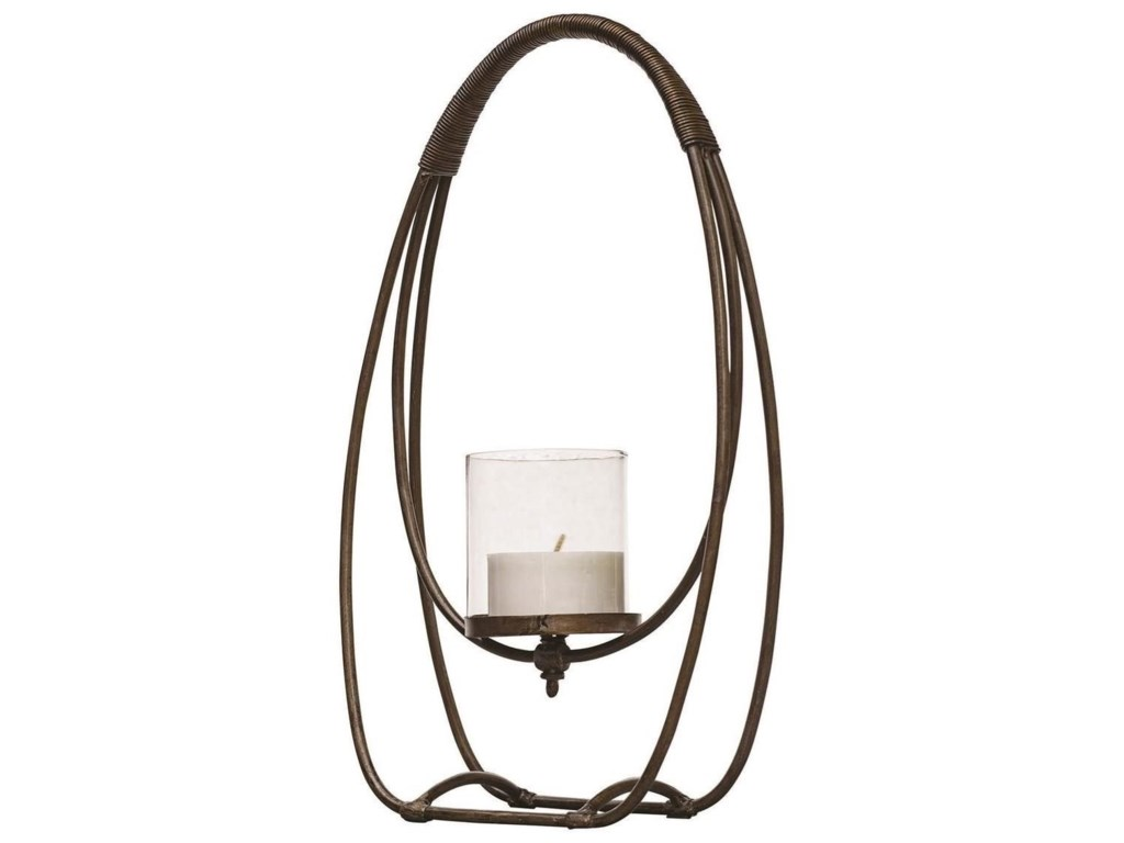 Uttermost Accessories - Candle HoldersRayne Open Iron Candleholder