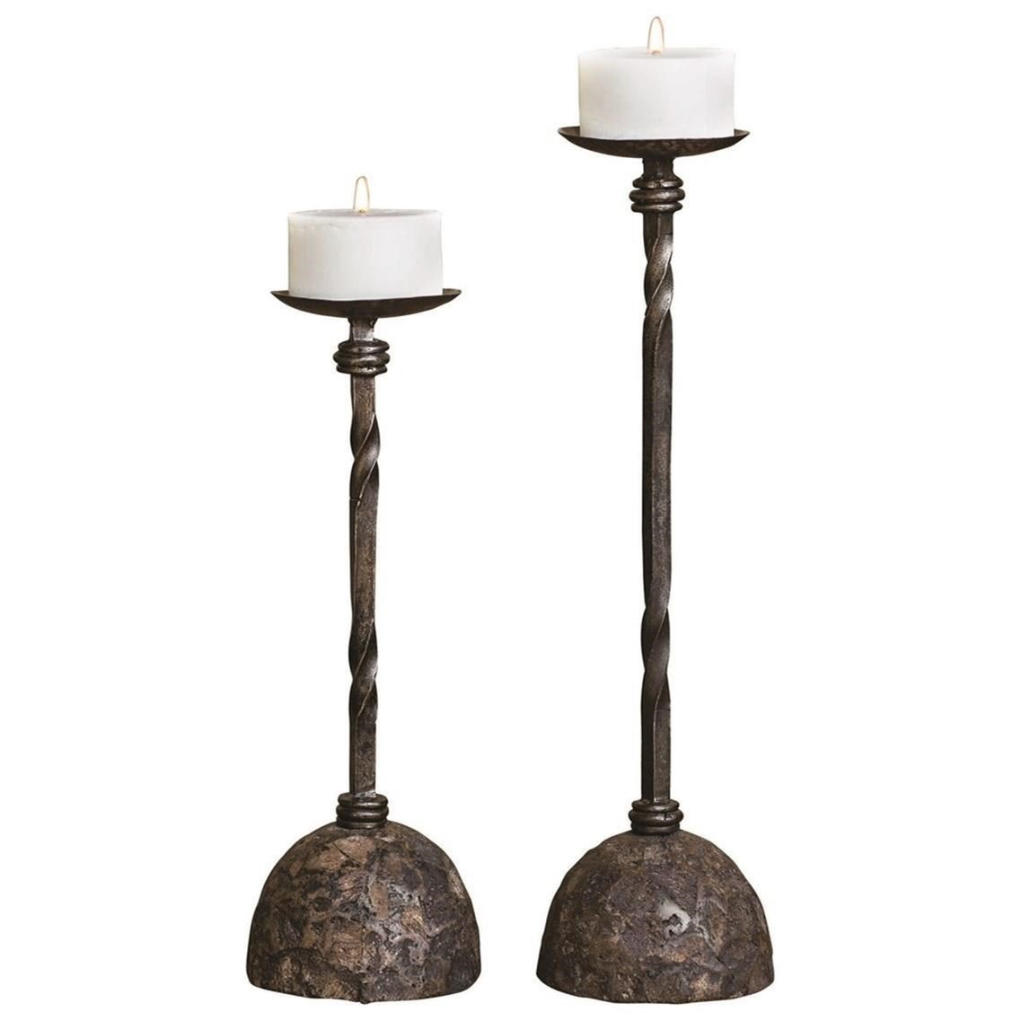 Gold Uttermost 19957 Lucy Candleholders Set of 2