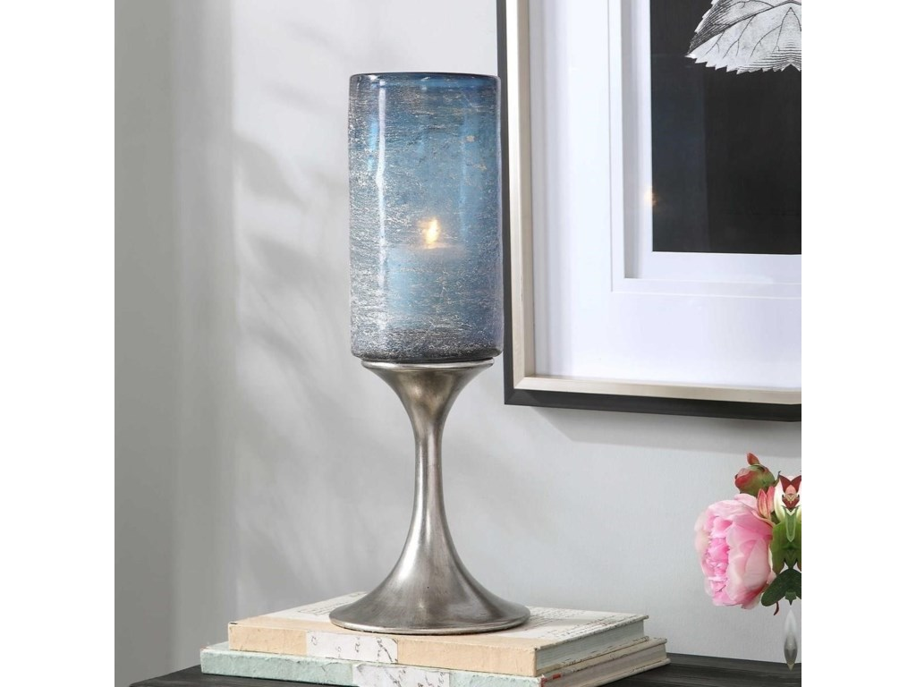 Uttermost Accessories - Candle HoldersGallah Blown Glass Candleholder