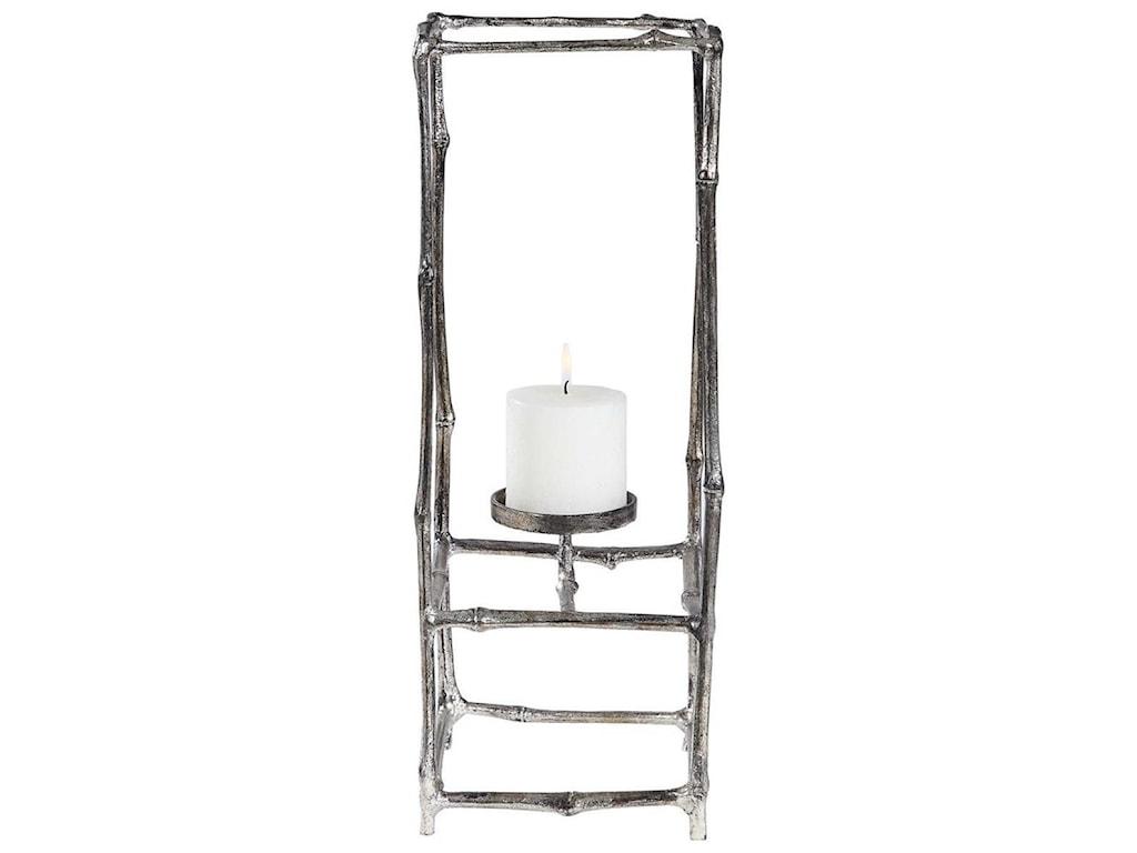 Uttermost Accessories - Candle HoldersGenaro Silver Branch Candleholder