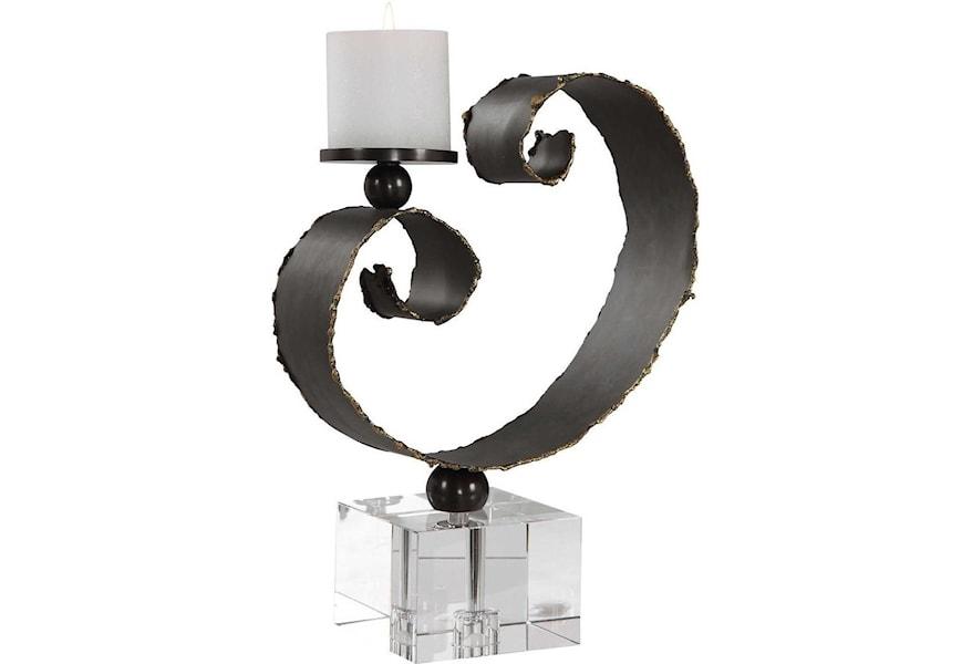 Candle Holders 17568 Yarina Dark Bronze