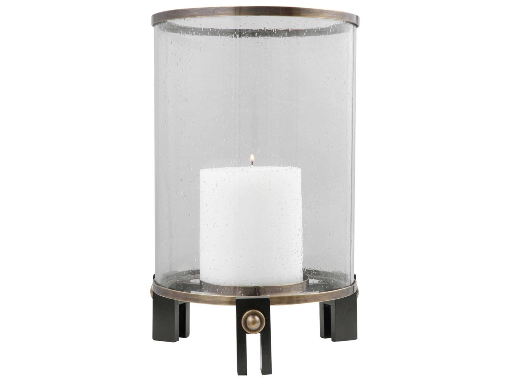 Uttermost Accessories - Candle HoldersFaraday Hurricane Candleholder