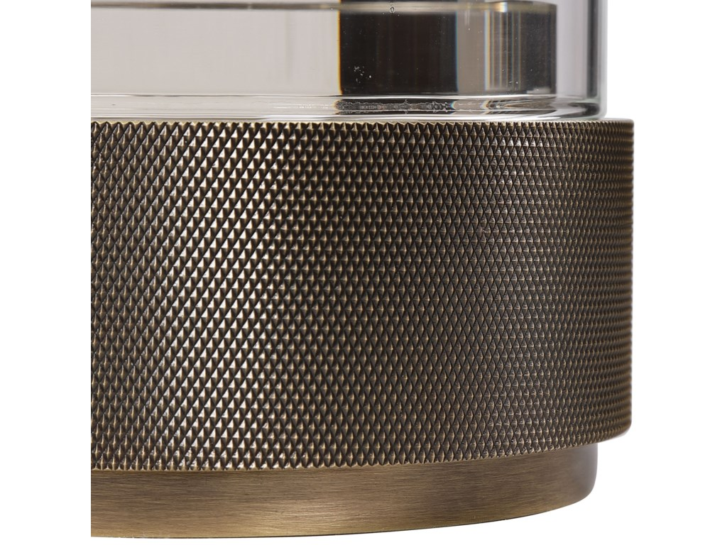Uttermost Accessories - Candle HoldersSandringham Brushed Brass Candleholders, S/2