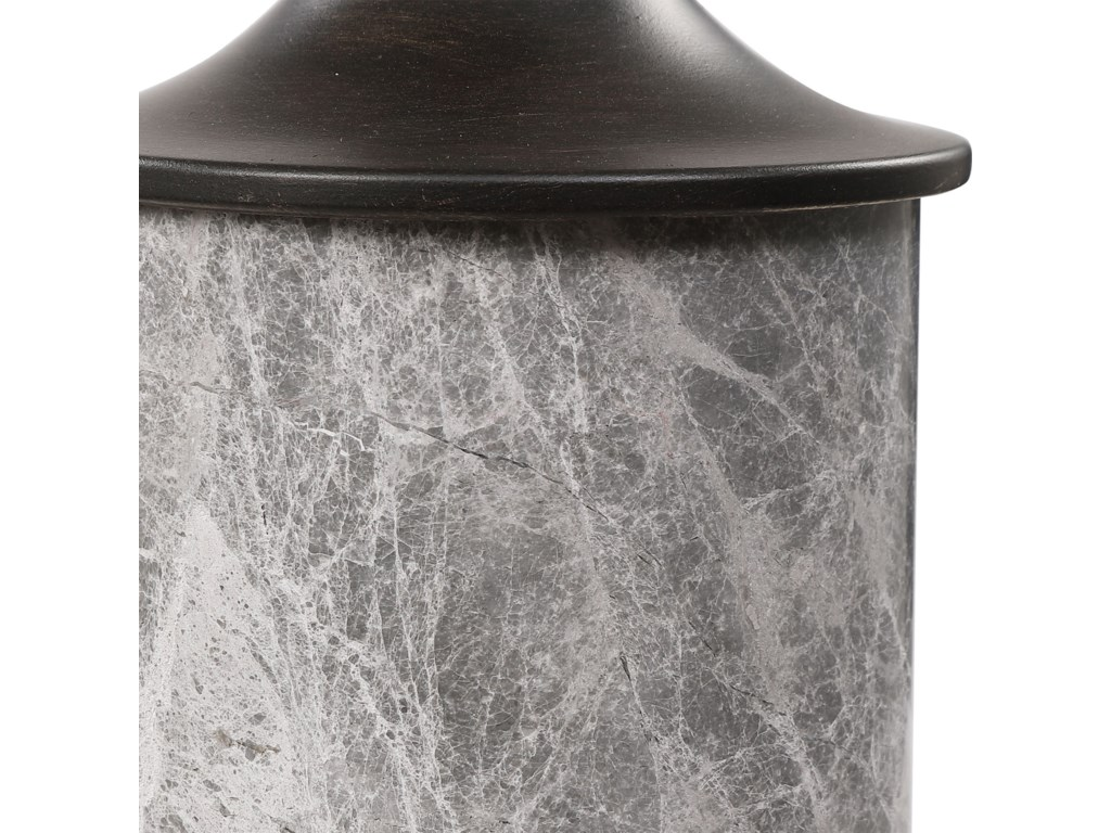 Uttermost Accessories - Candle HoldersDeane Marble Candleholders, S/2
