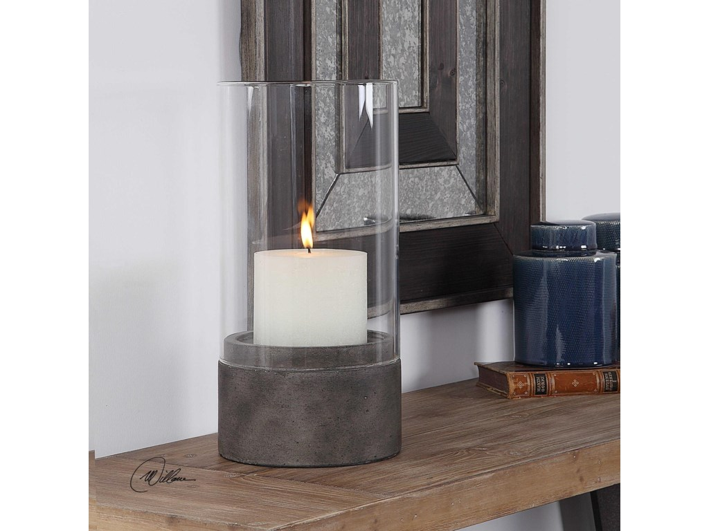 Uttermost Accessories - Candle HoldersLuka Hurricane Candleholder