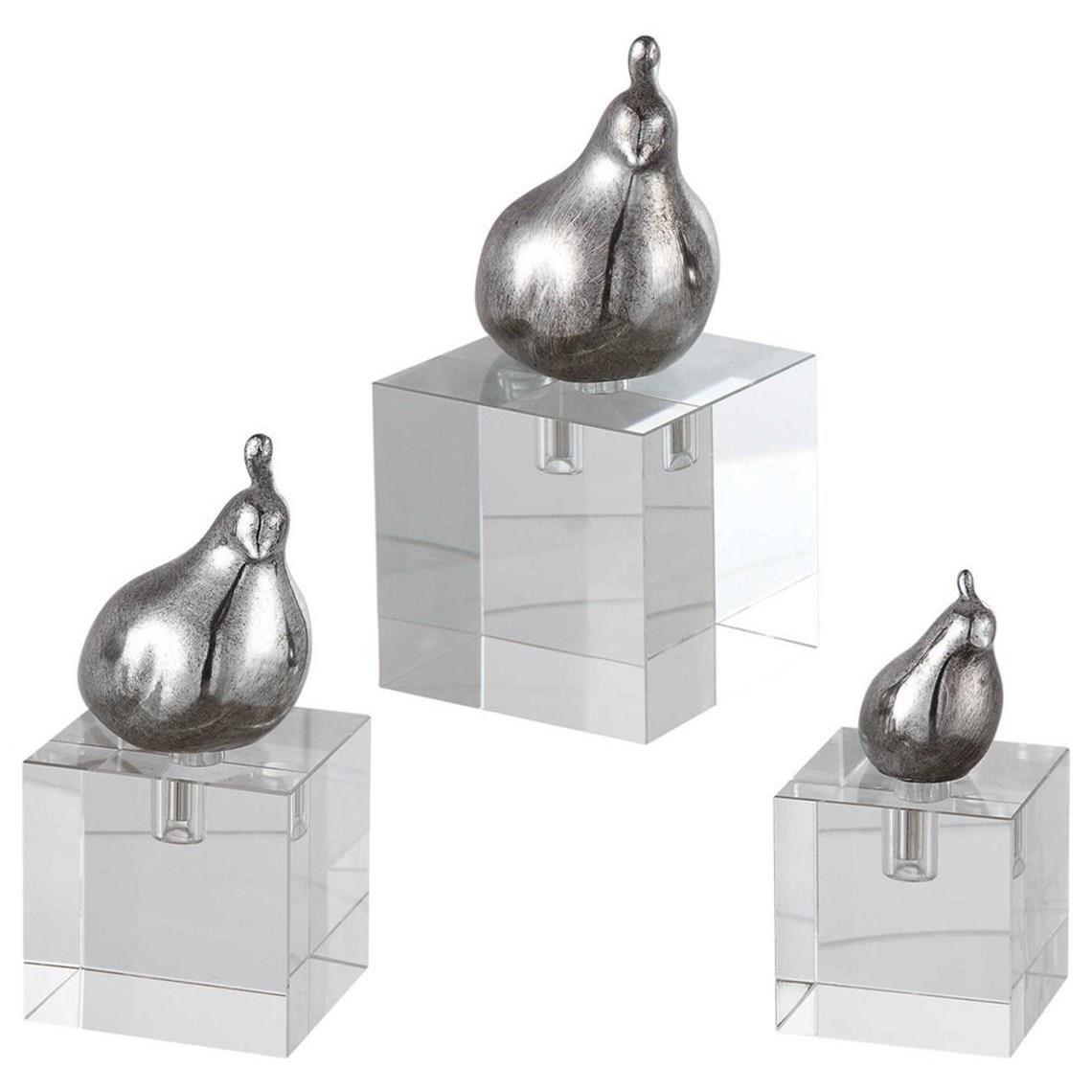 Aira Bird Figurines, Set of 3
