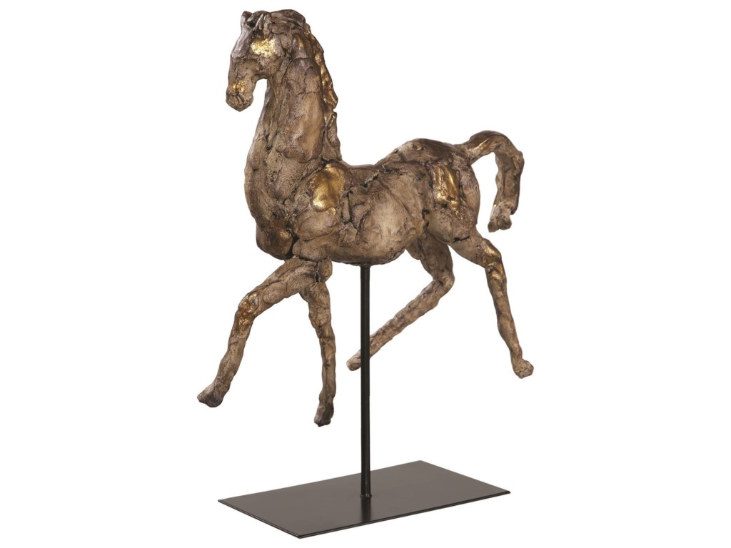 Uttermost Accessories - Statues and FigurinesCaballo Dorado Horse Sculpture