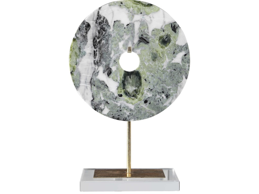 Uttermost Accessories - Statues and FigurinesIrelyn Marble Disk Sculpture
