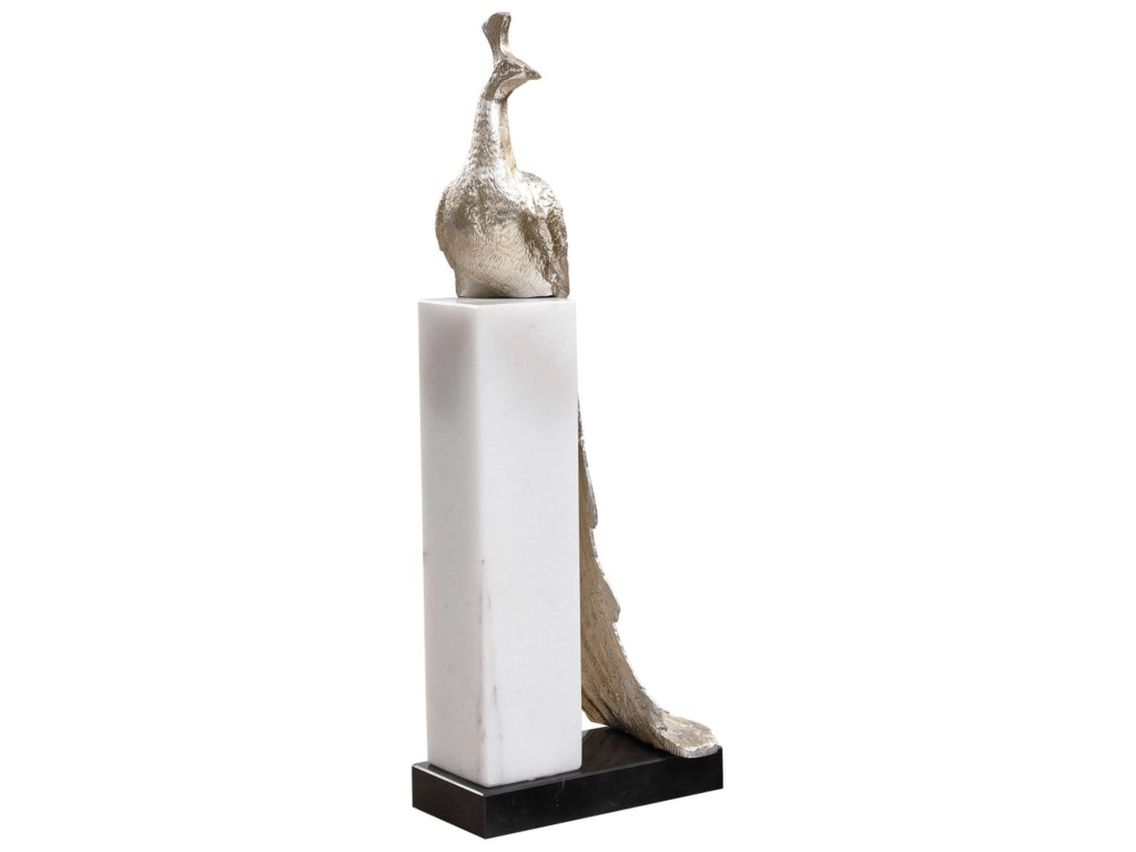 Uttermost Accessories - Statues and FigurinesPeacock Sculpture