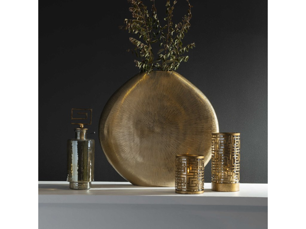 Uttermost Accessories - Vases and UrnsGretchen Gold Vase