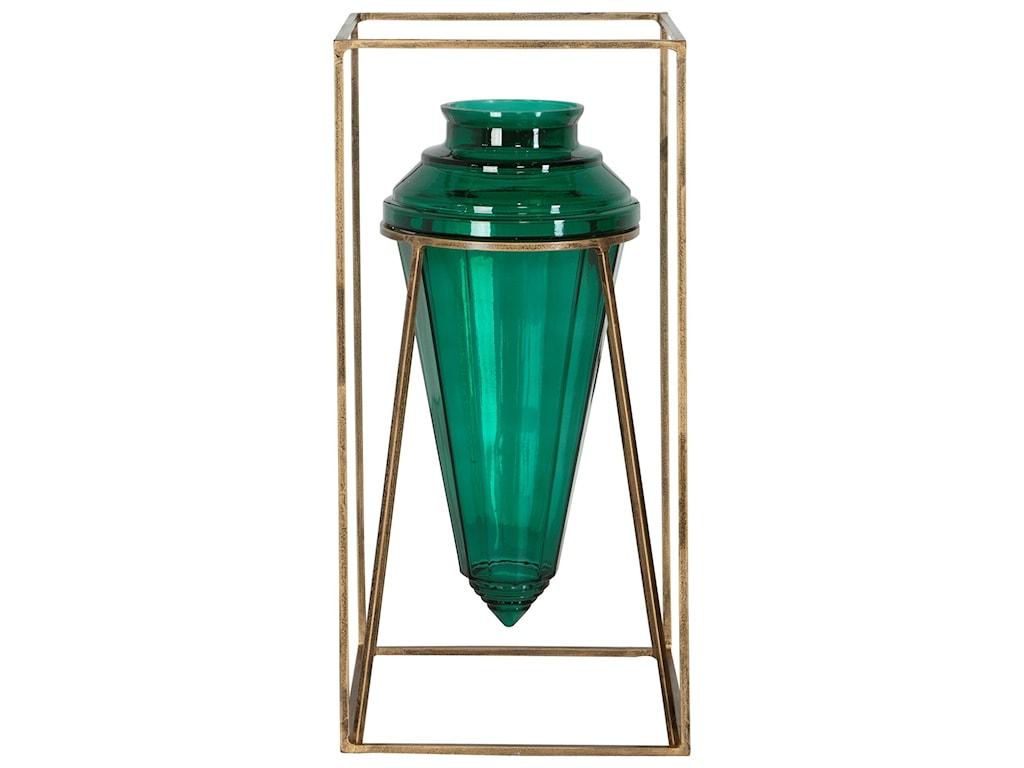 Uttermost Accessories - Vases and UrnsAriga Emerald Green Vase