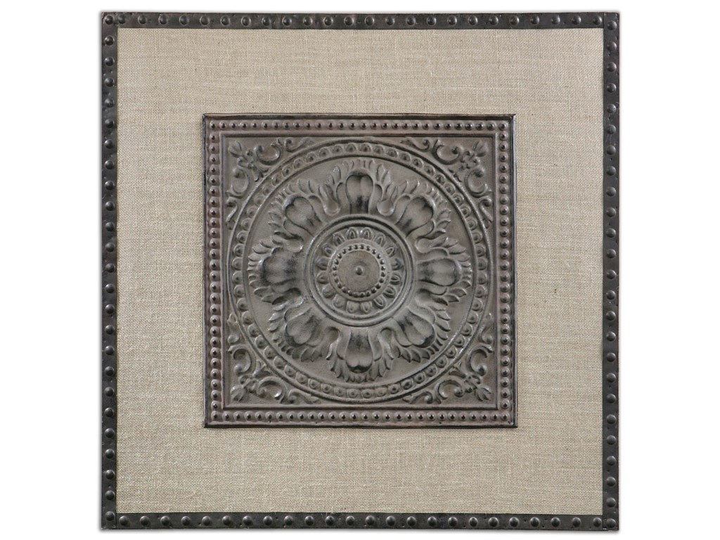 Uttermost ArtFilandari Stamped Metal Wall Art