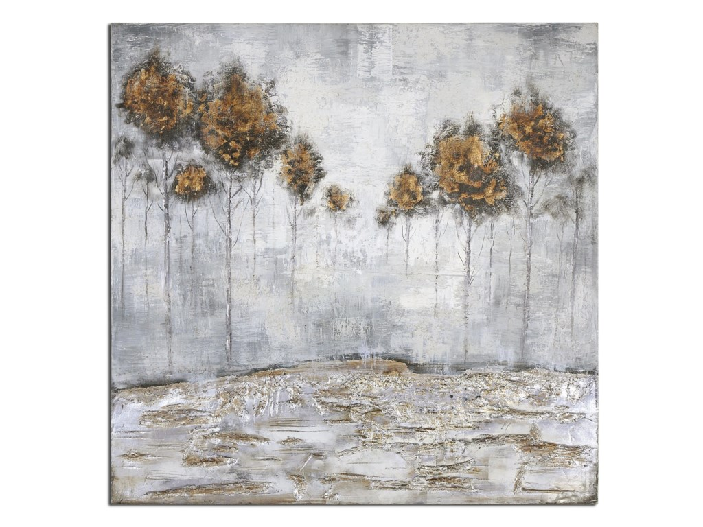 Uttermost ArtIced Trees Abstract Art