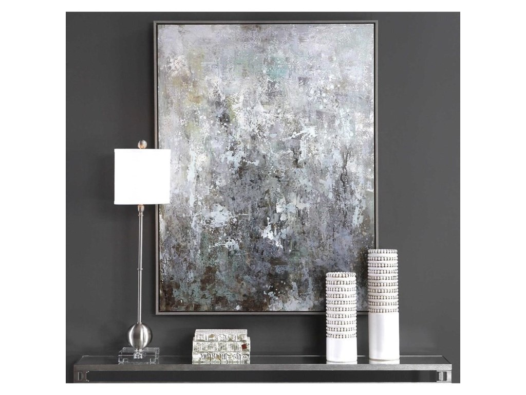 Uttermost ArtSea Mist Hand Painted Canvas