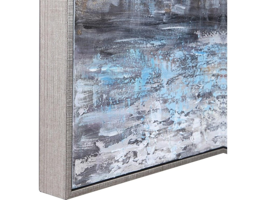 Uttermost ArtCity Reflection Hand Painted Canvas