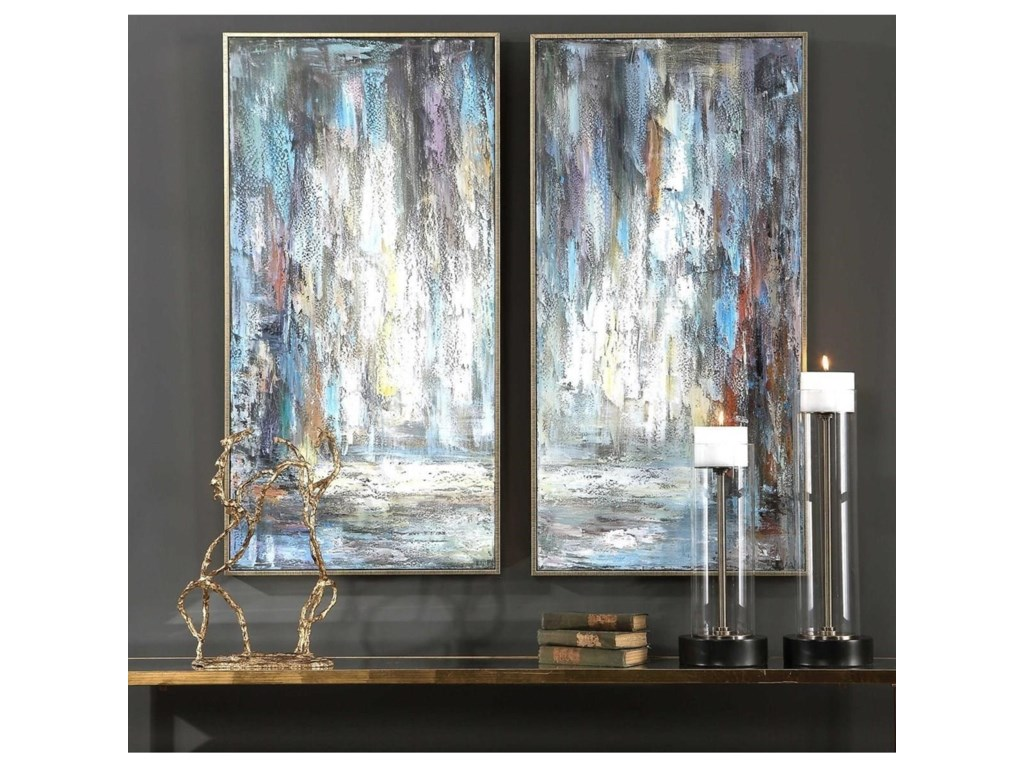 Uttermost ArtArtist's Palette Hand Painted Canvases