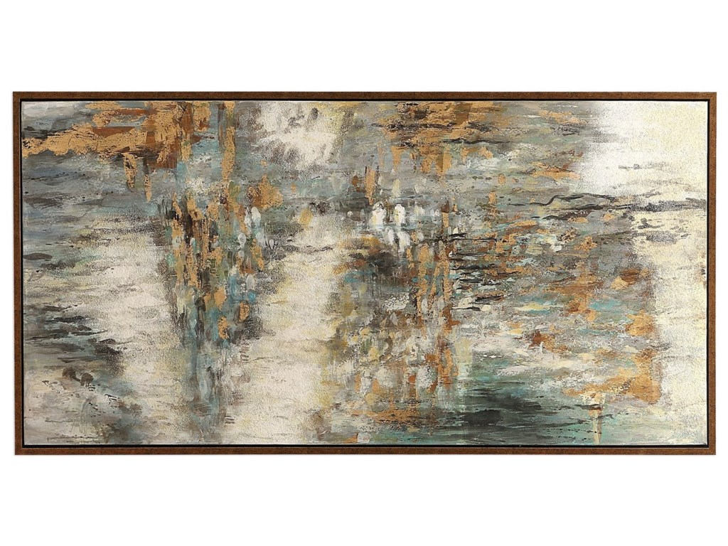 Uttermost ArtBehind The Falls Abstract Art