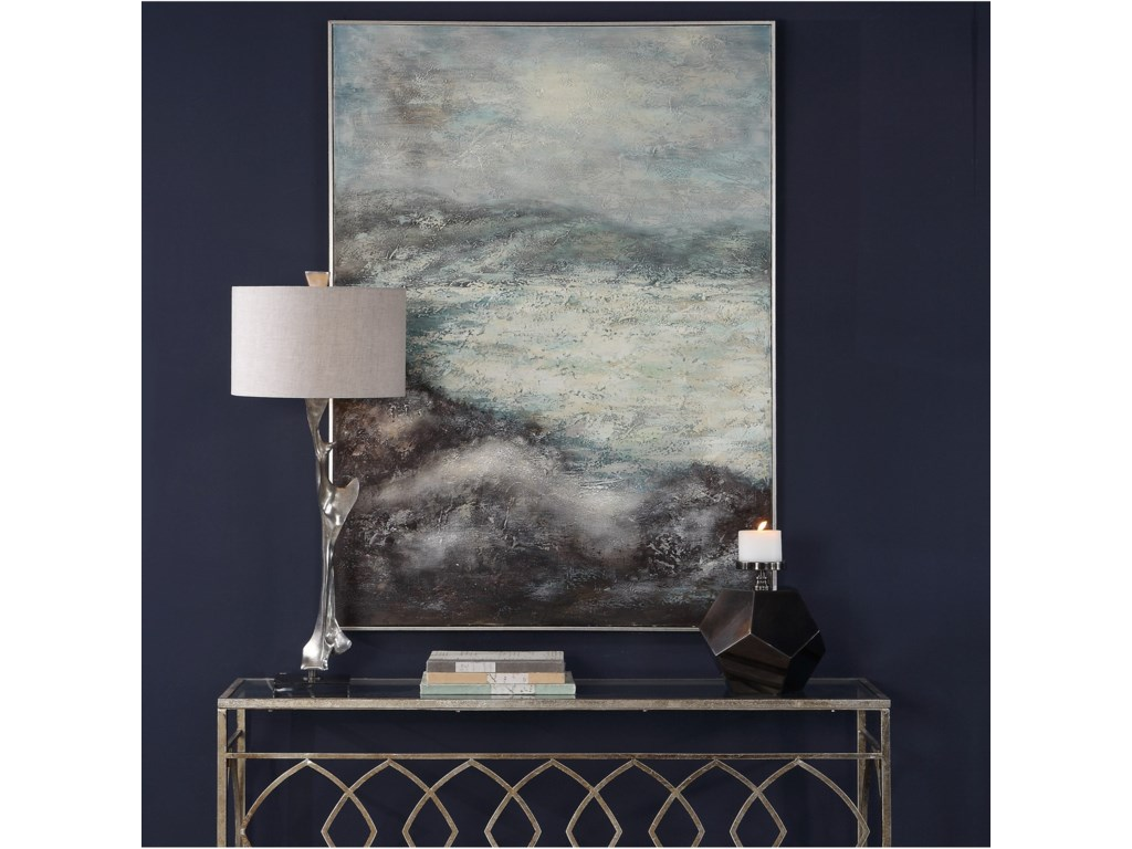 Uttermost ArtAzure Altitudes Hand Painted Canvas