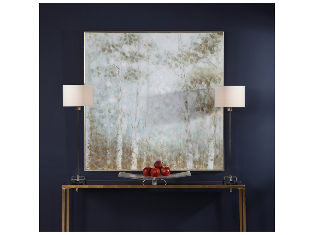Uttermost ArtCotton Woods Hand Painted Canvas