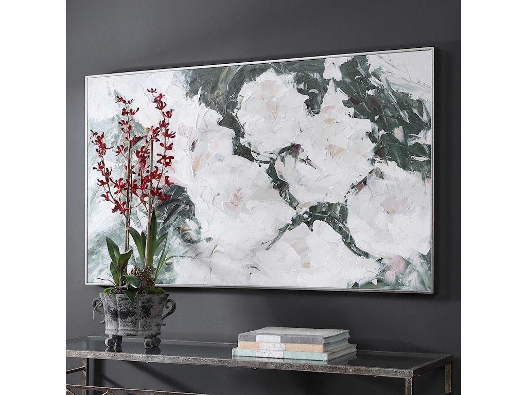 Uttermost ArtSweetbay Magnolias Hand Painted Art