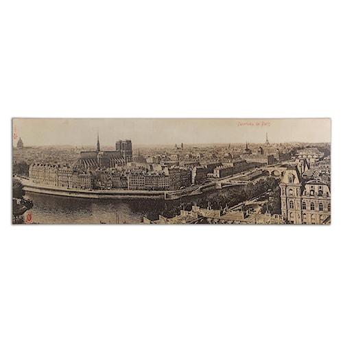 Uttermost Art Panorama De Paris Vintage Art