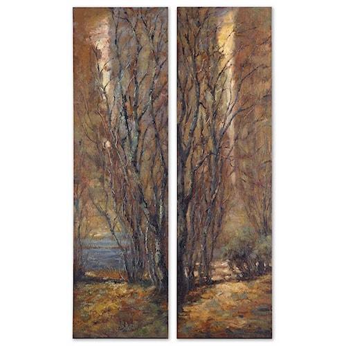 Uttermost Art Tree Panels Set of 2