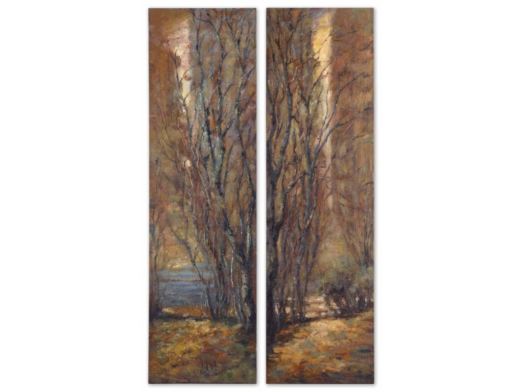 Uttermost ArtTree Panels Set of 2
