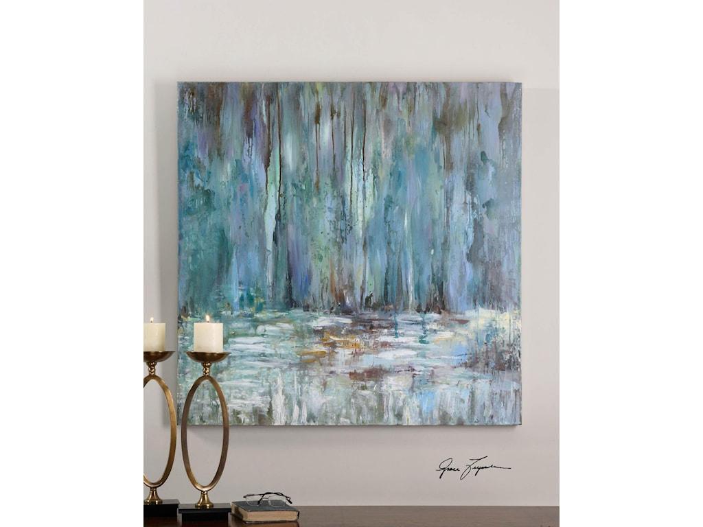 Uttermost ArtBlue Waterfall