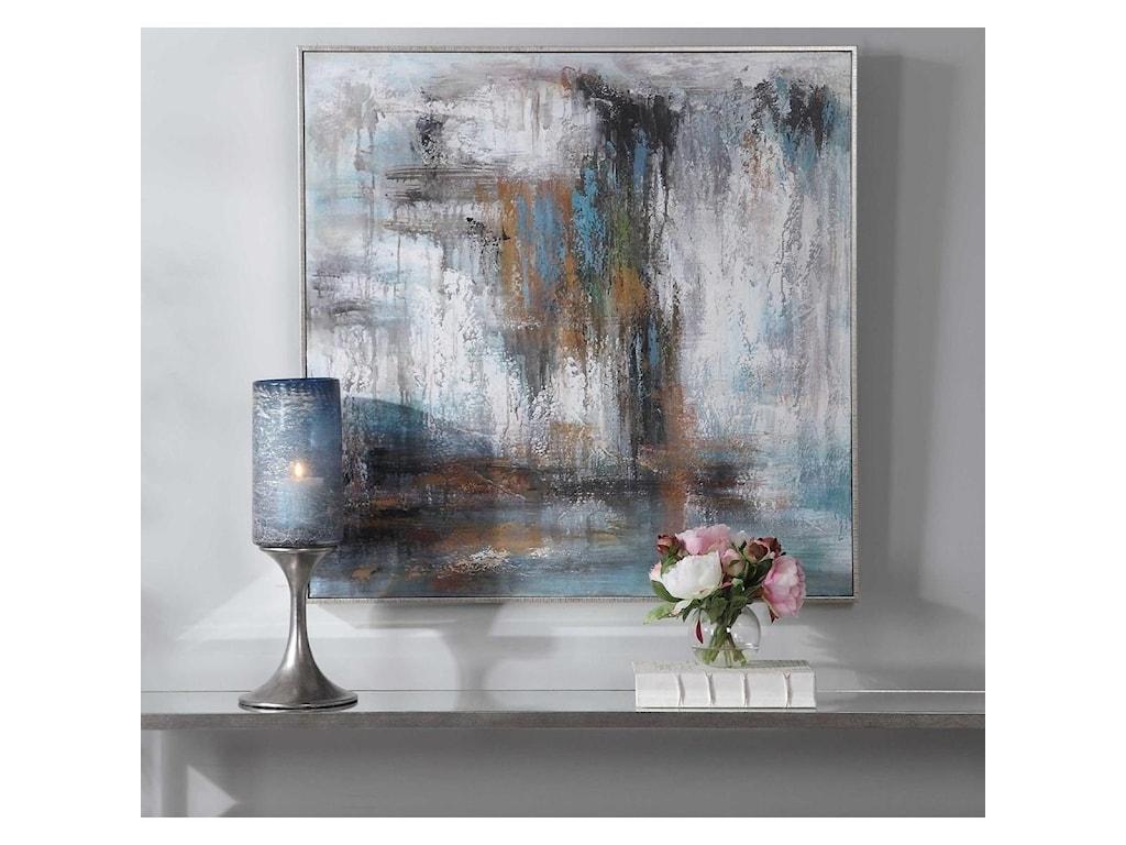 Uttermost ArtDownpour Hand Painted Canvas
