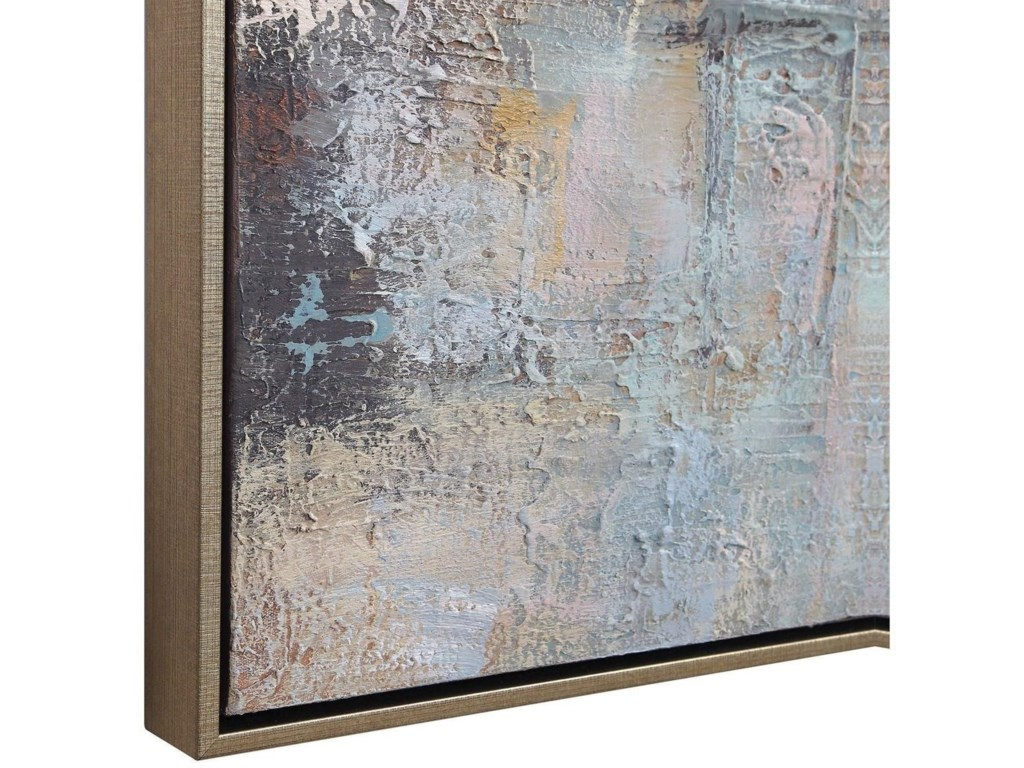 Uttermost ArtMorning Sunrise Hand Painted Canvas
