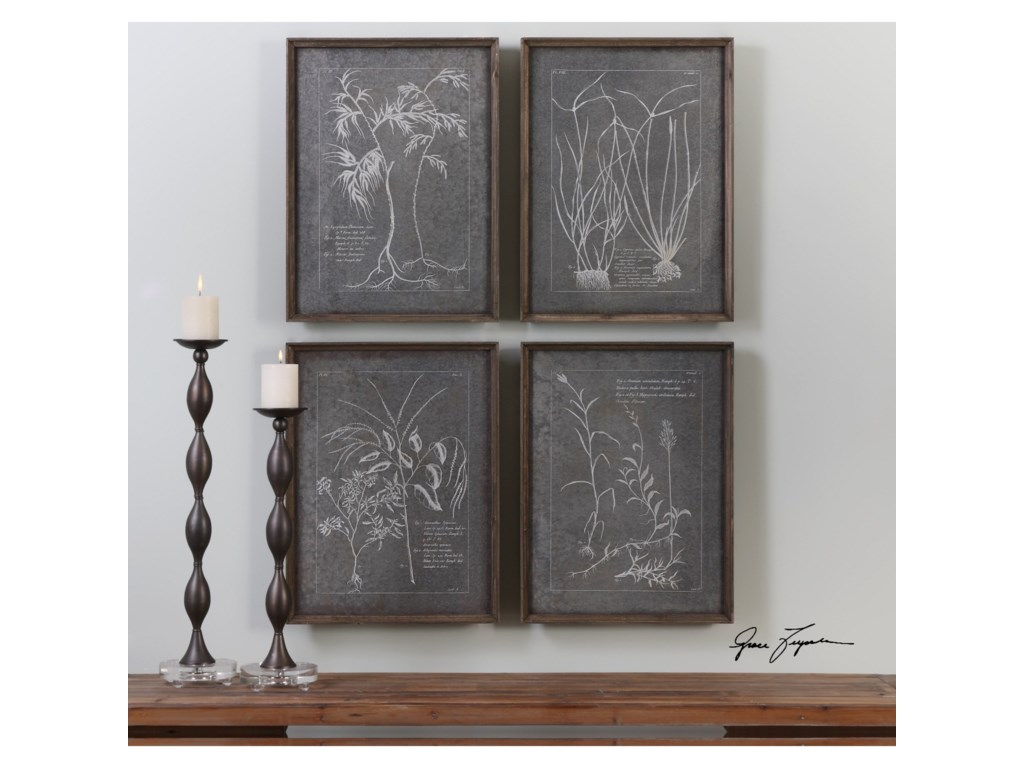 Uttermost ArtRoot Study (Set of 4)